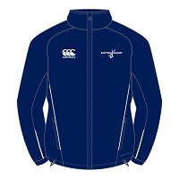 Scottish Hockey Full Zip Rain Jacket Juniors