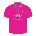 Scottish Hockey Umpire Polo Shirt - Hot Pink