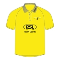 Scottish Hockey Umpire Polo Shirt - Sunshine Yellow