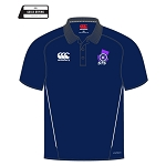 Scottish Target Shooting Team Dry Polo Navy/White Gents