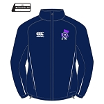 Scottish Target Shooting Team Full Zip Rain Jacket Navy/White