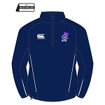 Scottish Target Shooting Team 1/4 Zip Micro Fleece Navy/White Ladies