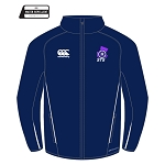 Scottish Target Shooting Team Stadium Jacket Navy/White