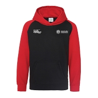 SFRS Family Support Trust Baseball Hoody Junior Black/Red