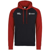 SFRS Family Support Trust Baseball Hoody Adults Black/Red
