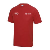 SFRS Family Support Trust Cool T-Shirt Junior Red