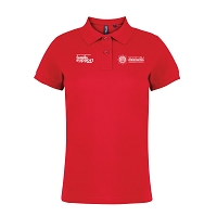 SFRS Family Support Trust Polo Shirt Ladies Red