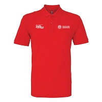 SFRS Family Support Trust Polo Shirt Mens Red