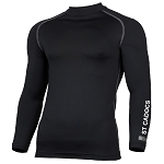 St. Cadocs Youth Club Long Sleeve Baselayer Black Senior
