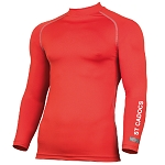 St. Cadocs Youth Club Long Sleeve Baselayer Red Junior