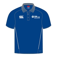 Team Scotland CWG SNR Team Dry Polo Shirt Royal