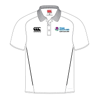 Team Scotland CWG SNR Team Dry Polo Shirt White