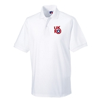 UKRO - Polo Shirt (White)