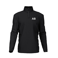 West Dunbartonshire Gymnastics Club Junior Competition Midlayer - Black