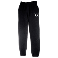 West Dunbartonshire Gymnastics Club Classic Elasticated Sweatpant - Black