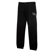 West Dunbartonshire Gymnastics Club Classic Kids Jog Pants - Black