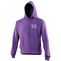 West Dunbartonshire Gymnastics Club Adults College Hoodie - Purple
