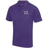 West Dunbartonshire Gymnastics Club Adults Cool Polo - Purple