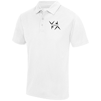 West Dunbartonshire Gymnastics Club Adults Cool Polo - Arctic White