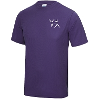West Dunbartonshire Gymnastics Club Adults Cool T - Purple