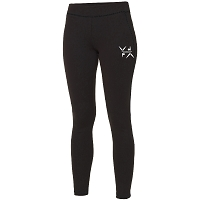 West Dunbartonshire Gymnastics Club Girlie Cool Athletic Pant - Black