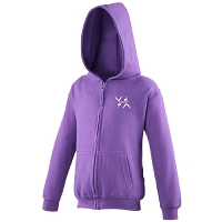 West Dunbartonshire Gymnastics Club Kids Zoodie - Purple