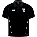 WLTC Team Dry Polo Black Juniors