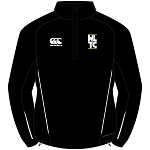 WLTC Team 1/4 Zip Mid Layer Training Top Black Youth