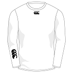 Cargilfield School Boys Baselayer Cold Long Sleeve Top White