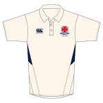 Cargilfield School Boys Cricket Shirt Cream/Navy