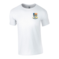 Galashiels Academy Gym T-Shirt White