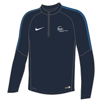GCU Sports Men's Nike Flash 18 Midlayer Obsidian/Royal