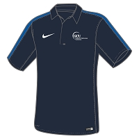 GCU Sports Men's Nike Flash 18 SS Performance Polo Obsidian/Royal