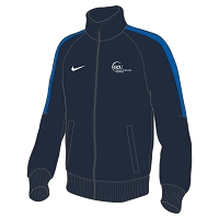 GCU Sports Men's Nike Flash 18 Knit Trainer Jacket Obsidian/Royal