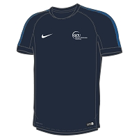 GCU Sports Women's Nike Flash 18 SS Training Top Obsidian/Royal