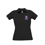 Kelvinside Academical Club Ladies Polo Black
