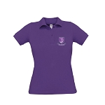 Kelvinside Academical Club Ladies Polo Purple