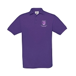 Kelvinside Academical Club Mens Polo Purple