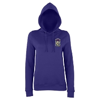 Marr College Ladies College Hoodie Purple