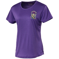 Marr College Ladies Cool T Purple
