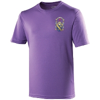 Marr College Mens Cool T Purple