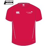 Edinburgh Napier University Sport, Exercise & Health Team Dry Tee Red