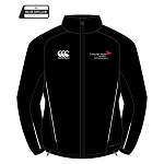 Edinburgh Napier University Sport, Exercise & Health Team Full Zip Rain Jacket Black