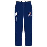 AUSA Sports Open Hem Stadium Pants Male Fit Navy