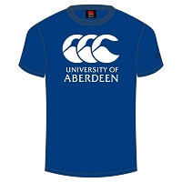 AUSA Sports Graphic Tee Unisex Fit Royal