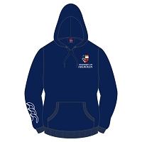 0337d0d8b169 AUSA Sports Hoody Unisex Fit Navy