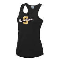 Strathclyde Warriors Vest Black