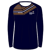 University of Strathclyde Athletics Club Male LS Sub T-Shirt Navy