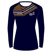 University of Strathclyde Athletics Club Female LS Sub T-Shirt Navy