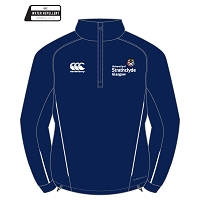 University of Strathclyde Team Quarter Zip Mid Layer Training Top Navy/White